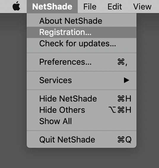 NetShade FAQ   Rayner Software